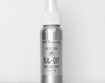 Bug Off Shake and Spray, 2.5oz, Vegan, All Natrural