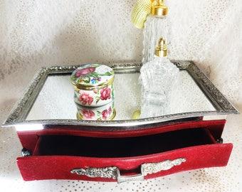 Silver Dresser Tray