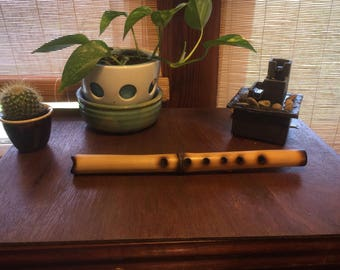 Shakuhachi flute in key of G