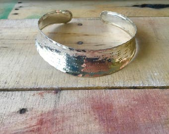 Bohemiean Silver-tone Rustic Choker
