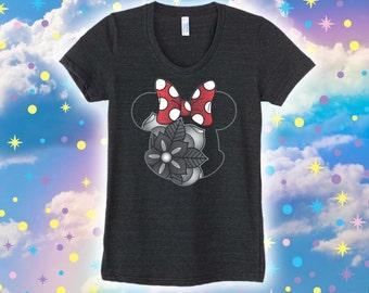 Minnie Flower - Women's Tee
