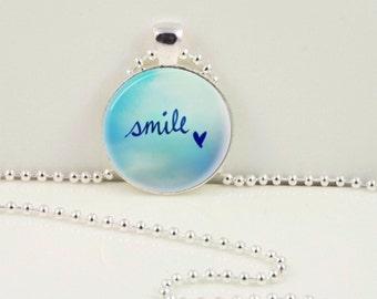 Smile Pendant or Keychain