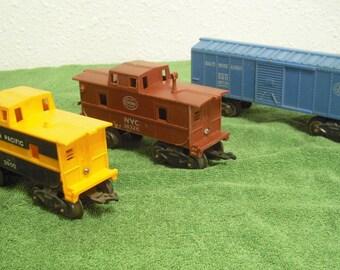 Marx O-27 Freight Cars.