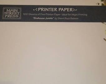 Vintage homestyle decorative stationary/printer paper