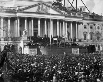 Inauguration of Abraham Lincoln, 1861, Washington D.C.