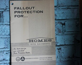 Fallout Protection Booklet c1967