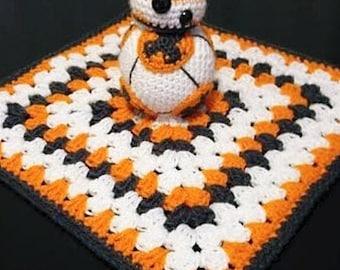 BB-8 Star Wars Snuggle Buddy Baby Security Blanket