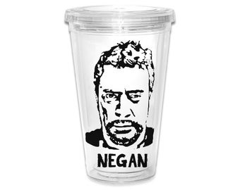 "NEGAN Character Image Tumbler ""The Walking Dead"""