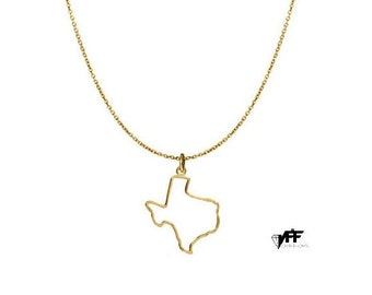 Texas necklace etsy mozeypictures Images