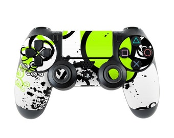 Sony PS4 Controller Skin Kit - Simply Green - DecalGirl Decal Sticker