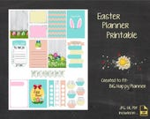 Happy Planner Printable Stickers, MAMBI Big Happy Planners [Easter]