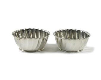 Vintage 1887 Sterling Master Salt Dishes Gorham Silver