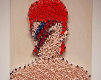 David Bowie String Art