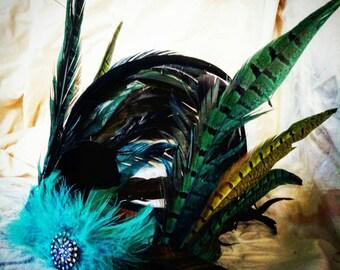 Mermaid feather crown