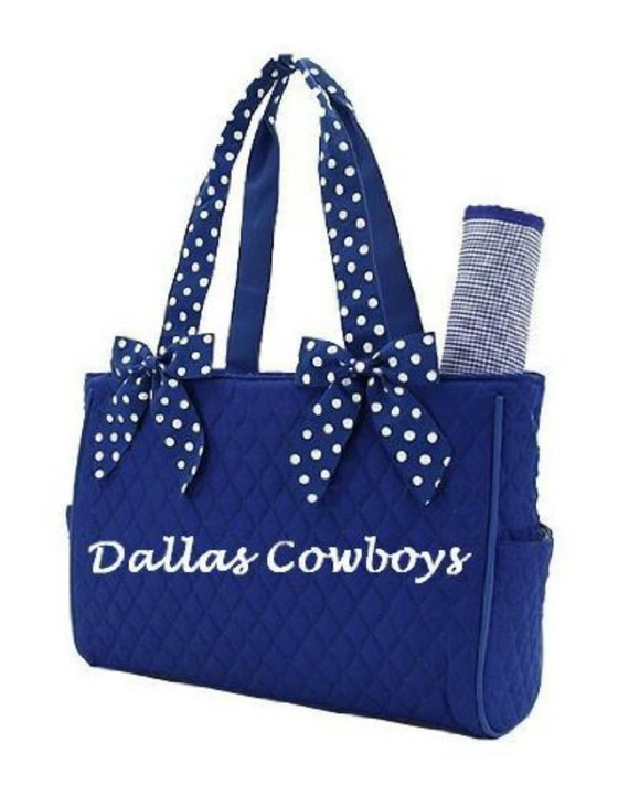 Cowboy Diaper Bags : Dallas cowboys diaper bag baby toddler blue white