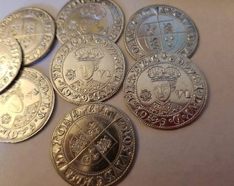 25 Edward VI Sixpence