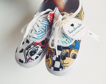 Paw Patrol Themed Sneakers - NEW Toddler Size Listing