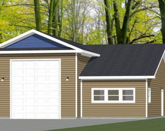 Items similar to 14x28 tiny homes pdf floor plans for 32x40 garage plans