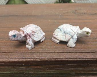 Carved Turtle Figurine