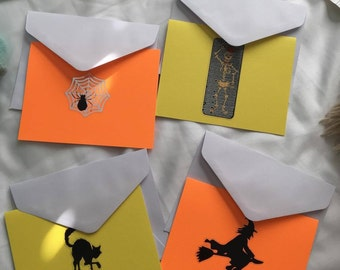 Halloween Card Set (4)