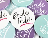 Hen party badges, Hen do accessories, Bride badges, Bride tribe badge