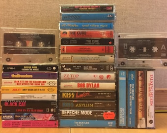 CASSETTE TAPES 5bucks each