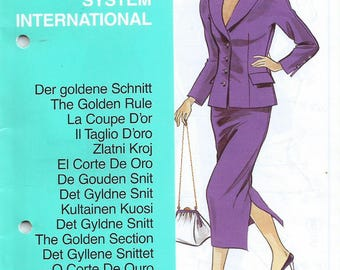 Lutterloh Supplement International #222 - Pattern To Draft To Your Measurements