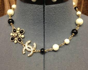 Designer Inspired Pearl necklace