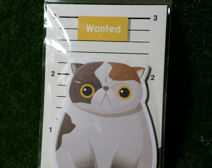 Cute Cat Sticky Notes