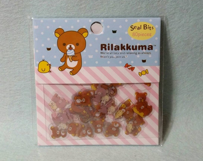 Kawaii Rilakkuma Sticker Sack by San X