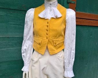 Vintage 1930s Fox Hunting Vest