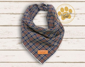 Connor - DOG Bandana, Puppy Bandana, Dog Scarf, Dog Collar, Puppy Collar, Dog Lover Gift, Dog Gifts - Small, Medium and Large