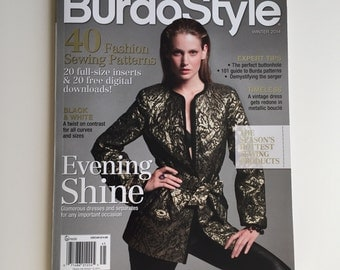 BurdaStyle American edition Winter 2014 with Patterns!