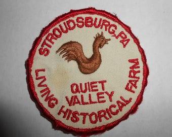 """Stroudsburg PA Pennsylvania Poconos Quiet Valley Living Historical Farm Patch 3"""""""