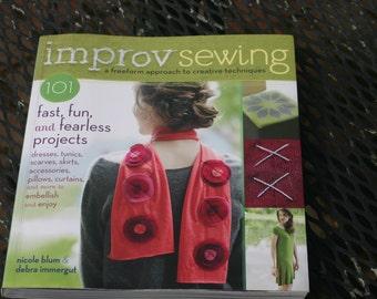 Improv Sewing Book