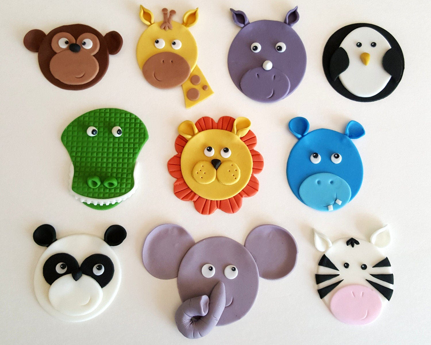 Jungle Animal Cake Toppers Australia