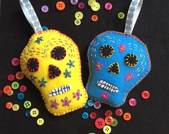 Day of the Dead scented sachets