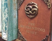 """The Neverending Story Faux Leather Book Cover for 6""""-8"""" Tablets (kindles, iPad mini, etc.)"""