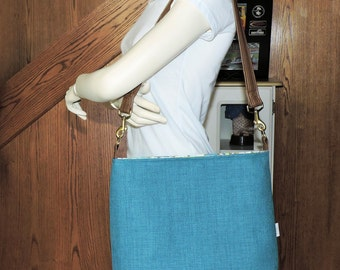 Teal Conceal Carry Purse/Handbag/Tote/CCW