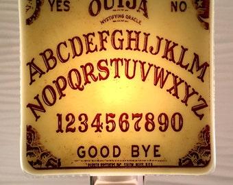 Ouija Board Night Light Fused Glass
