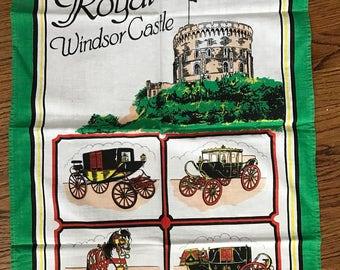Cotton Tea Towel, Windsor Castle