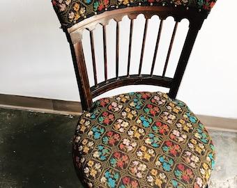 Eastlake Needlepoint Chair