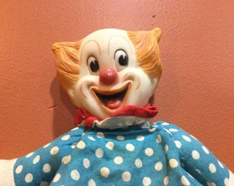 Vintage Bozo Clown Doll