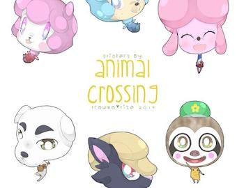 Animal Crossing Sticker Set