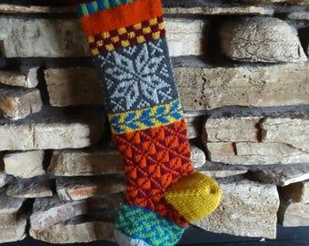 christmas stocking knit christmas stockings custom christmas stocking custom christmas stockings - Custom Christmas Stockings