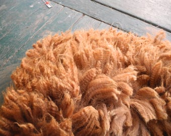 First shearing=Cinnamon Baby Alpaca Fleece