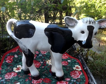 Items Similar To Cow Print Gift For Cow Lover Cow Art