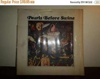 Save 30% Today RARE Vintage 1969 Psychedelic Rock LP Record Pearls Before Swine One Nation Underground w/Original Poster 9122