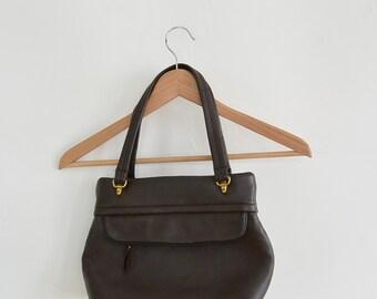 Deer Wear Genuine Deerskin Purse Handbag Vintage Perfect Condition Like New Super Supple Brown Deer Skin