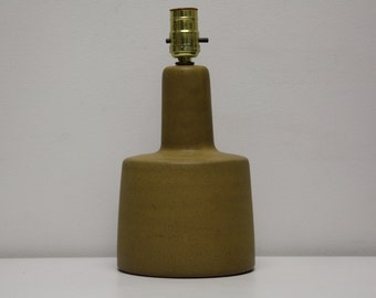 Mid-Century Modern Lamp designed by Jane and Gordon Martz for Marshall Studios Signed Pottery